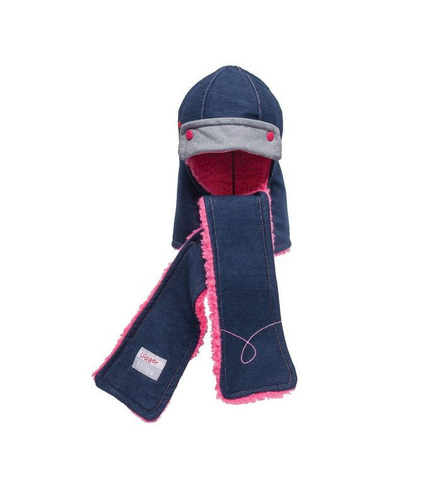 Czapka Denim Princess 6-12 m