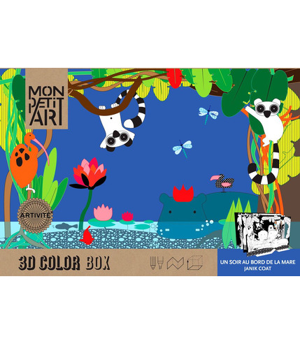 3D Collor Box - La Mare