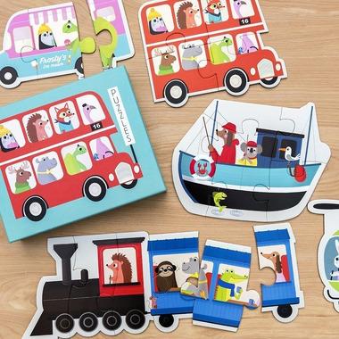 Rex, Puzzle, 6 pojazdów