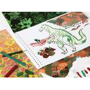 Kolaż Dinozaury