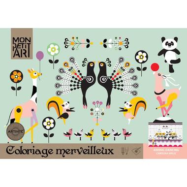 Kolorowanka - Tańczące zwierzęta