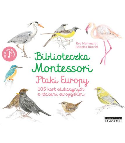 Ptaki Europy Biblioteczka Montessori,...