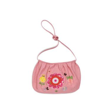 Różowa torebka z kwiatkiem
