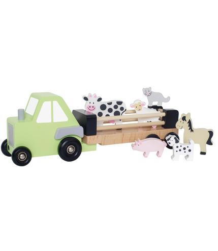 JaBaDaBaDo, drewniany traktor ze...
