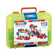 Klocki jeżyki w walizce 113 elementów -  Basic Builder Case