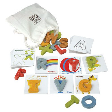Alfabet A-Z, Plan Toys