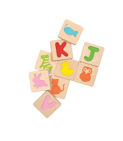 Alfabet, Plan Toys