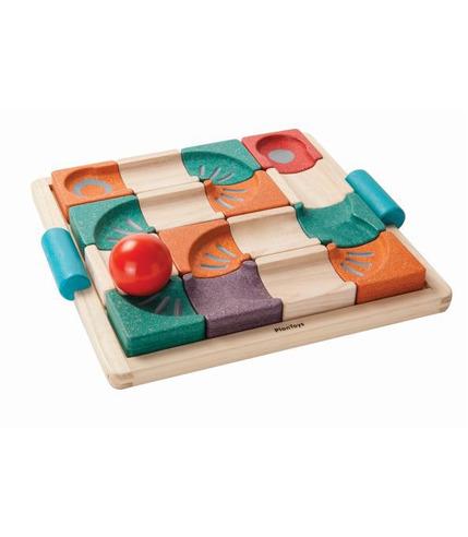 Balansujący tor kulkowy, Plan Toys