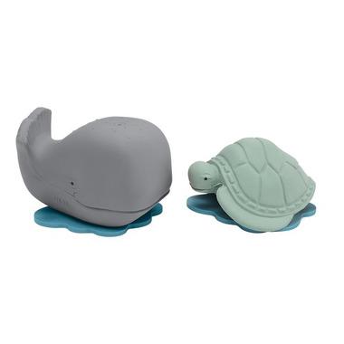 Hevea, Wieloryb i żółw do...