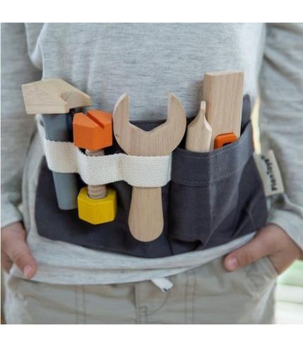 Plan Toys, Pas z drewnianymi narzędziami