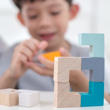 Plan Toys, Mini Puzzle w...