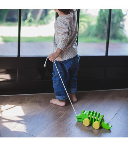 Plan Toys, Drewniany krokodyl do...