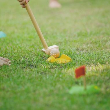 Drewniany mini golf - duży...