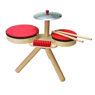 Drewniana perkusja, Plan Toys