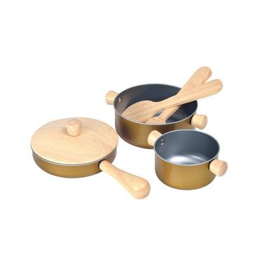 Drewniane przybory kuchenne, Plan Toys