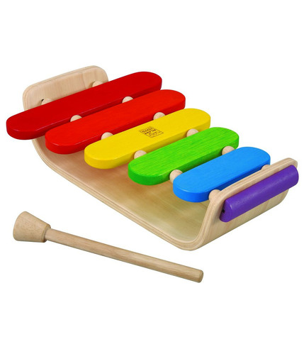 Drewniane cymbałki, Plan Toys