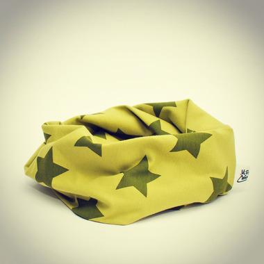 Komin - gwiazdki zielone