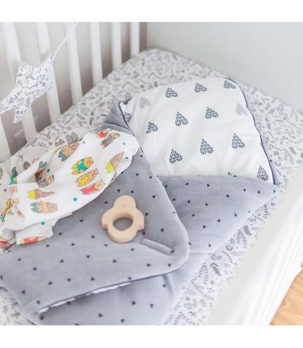 Rożek niemowlęcy 3 w 1 z pieluszką...