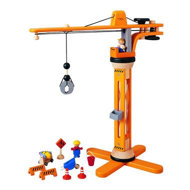 Drewniany dźwig, Plan Toys