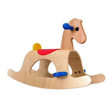Drewniany konik na biegunach Palomino, Plan Toys