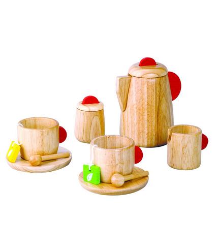 Drewniany serwis do herbaty, Plan Toys