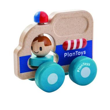 Drewniany pojazd pomoc drogowa, Plan Toys