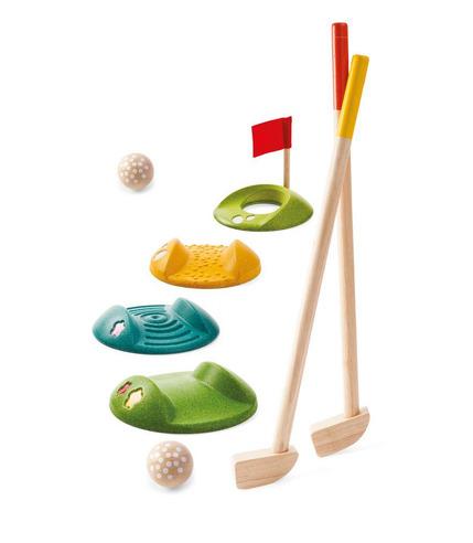 Drewniany mini golf - duży zestaw, Plan Toys