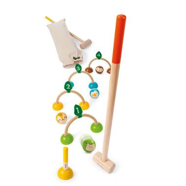 Drewniany krokiet (croquet), Plan Toys