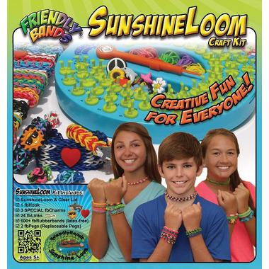 Zestaw do robienia bransoletek, Sunshine Loom