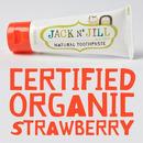 Jack N'Jill, Naturalna Pasta do zębów, organiczna truskawka i Xylitol, 50g