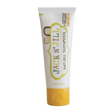 Naturalna Pasta do zębów, organiczny banan i Xylitol, 50g, Jack N'Jill