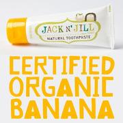 Jack N'Jill, Naturalna Pasta do zębów, organiczny banan i Xylitol, 50g