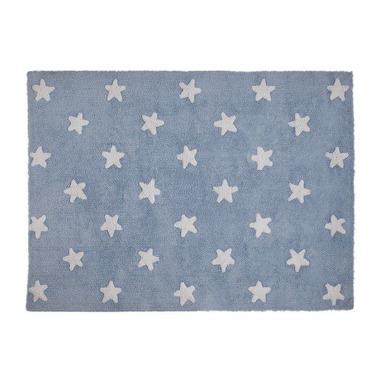Dywan do prania w pralce Blue Stars White