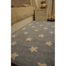 Dywan do prania w pralce Blue Stars White