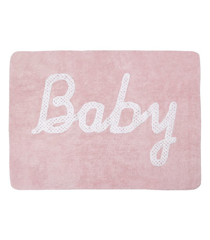Dywan do prania w pralce Baby Petit Point/ Pink