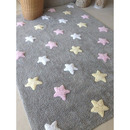 Dywan do prania w pralce Stars Grey Blue
