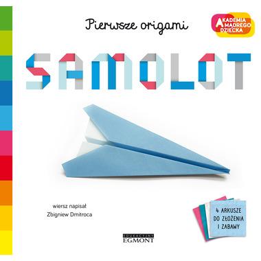 Samolot. Pierwsze origami....