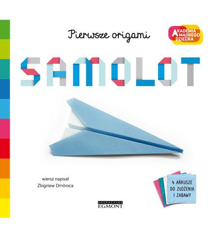 Samolot. Pierwsze origami. Akademia...