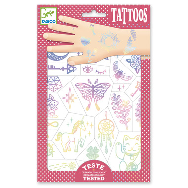 Djeco, Tatuaże TALIZMANY