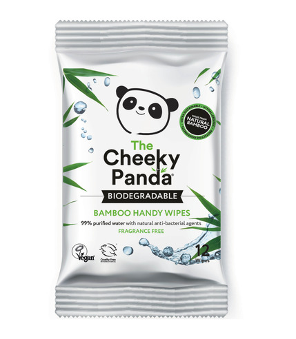 The Cheeky Panda, Handy Wipes –...