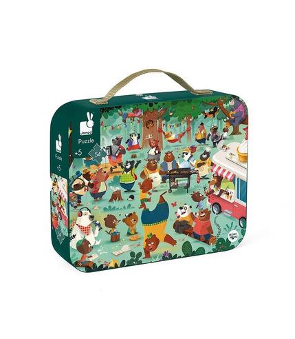 Janod, Puzzle w walizce Rodzina...