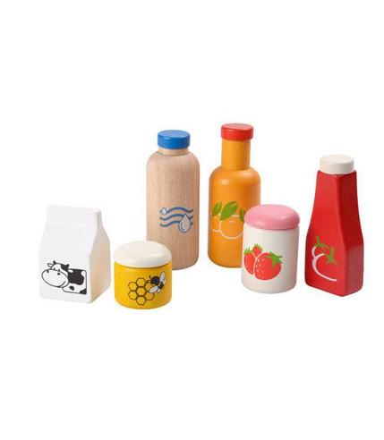 Zestaw jedzenia i napojów, Plan Toys