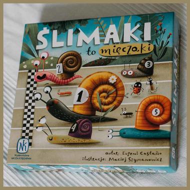 Gra ślimaki to mięczaki