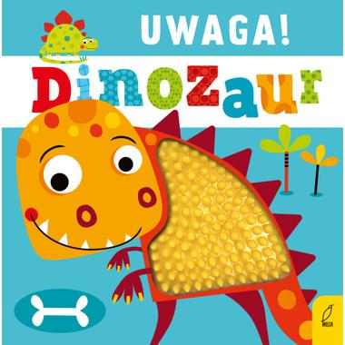 Uwaga dinozaur książeczka...