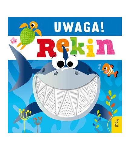 Uwaga rekin książeczka sensoryczna