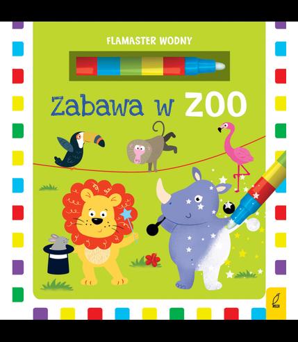Zabawa w zoo Flamaster wodny