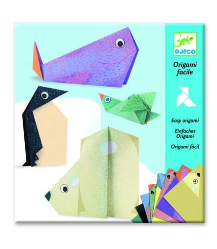 Djeco, Origami - zwierzęta polarne