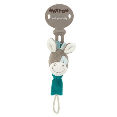 Koń Gaston zawieszka na smoczek Nattou