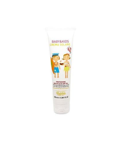 Bubble&CO, Krem Przeciwsłoneczny dla Dzieci I Niemowląt SPF 50 z Filtrami Mineralnymi 100 ml