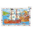 Puzzle - Bitwa Piratów Djeco